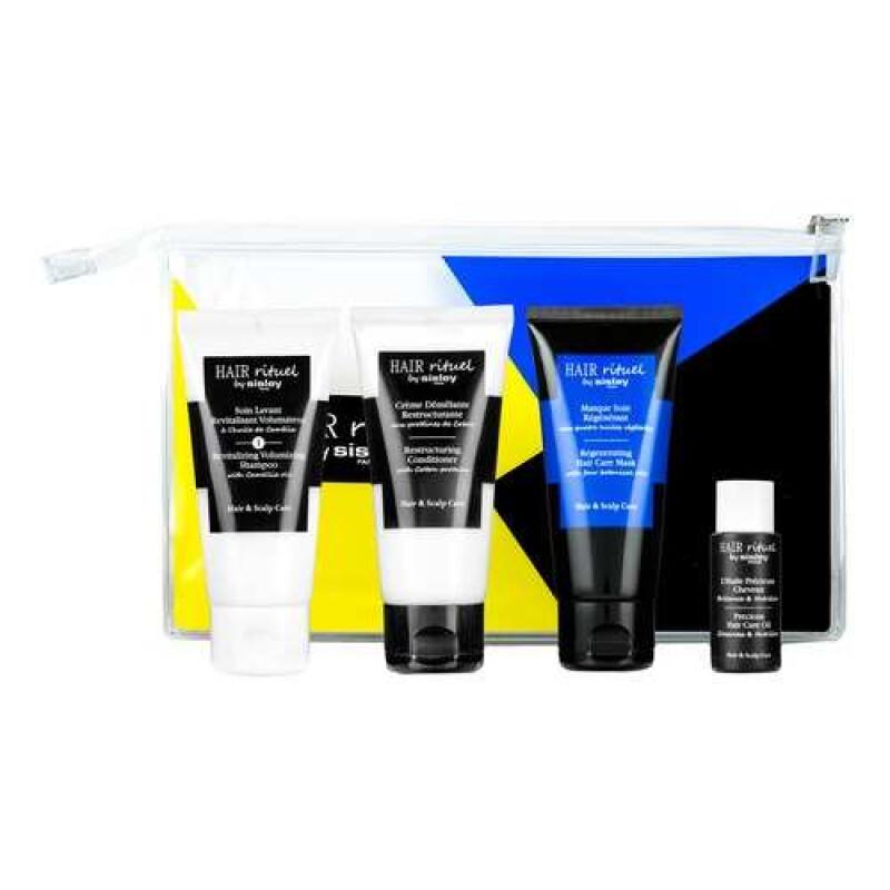 Hair Rituel Disciplined Discovery Kit Набор для ухода за волосами с шампунем для волос с маслом камелии