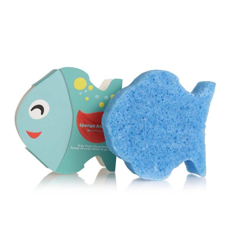 Губка для душа для детская - Рыбка